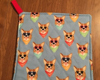 Corgi Hot Pad Pot Holder