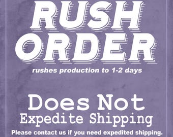 Rush Production Charge