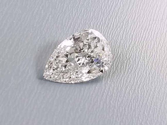 Loose pear shape 1.91 carat diamond G color SI2 clarity with GIA certificate / GIA # laser inscribed / with appraisal
