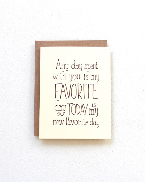 Today is my new favorite day Winnie the Pooh quote card