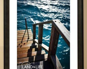 Stairway to Paradise Lustre Photo Print
