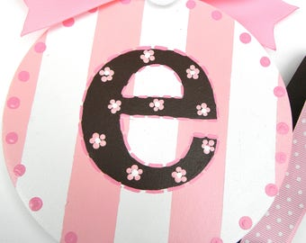 Hair Bow Holder-Personalized Hair Bow Holder - Round Bow Holder - Hairbow holder - barrette holder