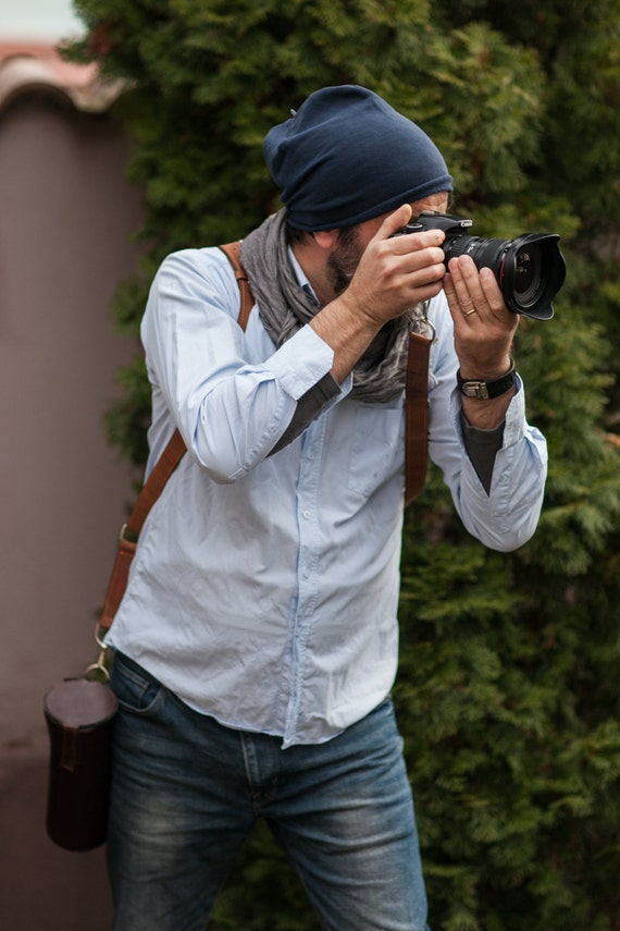 Multicamera Photographer Leather harness, Dual camera photographer strap, photographer gear, 74street multicamera strap, FULL GRAIN leather