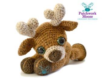 Reindeer Amigurumi Crochet Pattern PDF Instant Download - Marley