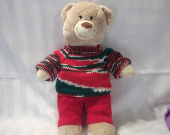 2 piece outfit for a bear.