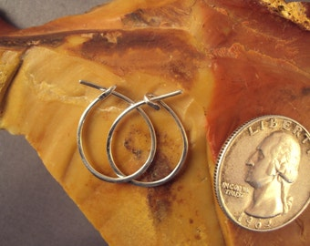 Earring Wire Hoops Non Tarnish Argentinum Silver