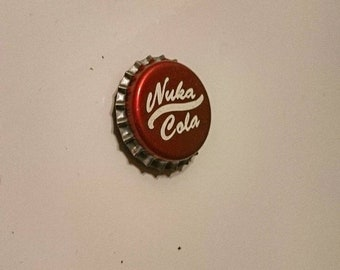 Nuka Cola Bottle Cap Fridge Magnet - Fallout enspired gamer gift
