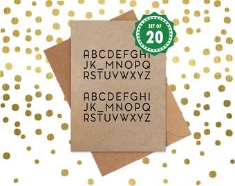 Funny Christmas Cards, Christmas Cards, Holiday Cards, Xmas Card, Seasonal card, Dingbat card: Set of 20 Christmas Cards. Noel Noel