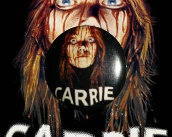 "H025 Carrie 1"" Pinback Button Pin Cult Classic Horror Cinema Film Movie"