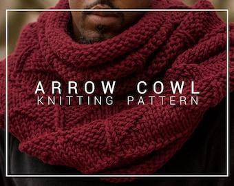 Knitting Pattern | Arrow Cowl