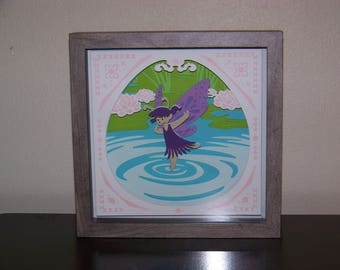 3D Water Fairy Wall Decor
