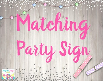 ADD Party Sign