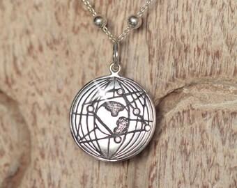 Spring Fling Sale Cyber Monday Sale Black Friday Sale Gemini Necklace, Gemini Jewelry, Gemini Pendant, Gemini Gift, Birthstone Necklace, Zod