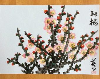 Original Chinese Painting-Blossom(Plum Blossom)