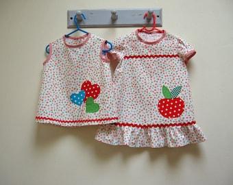 Girls dress sewing pattern POLLY PIPPIN dress pattern, pdf girl's dress pattern sizes 6 months to 6 years