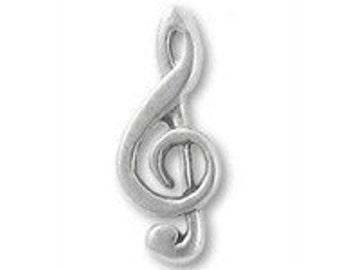 G-Clef Lapel Pin-Music Pins- Music Teacher Pins- Treble Clef