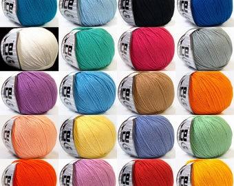 baby summer, cotton yarn, ice yarn, cotton, acrylic, summer yarn, knit, crochet, soft cotton yarn