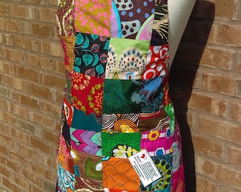 African Patchwork Aprons