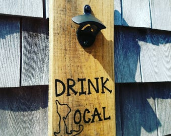 Drink local (cape cod) bottle opener