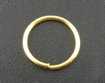 Set of 10g rings open from 9mm x0.7m DORE