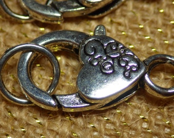Pewter Lobster Claw clasp