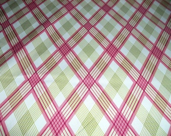 Joel Dewberry Modern Meadow Picnic Plaid in Berry - by the yard
