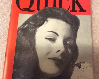 3/6/1950 Quick magazine Jeanne Crain