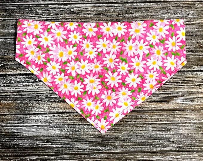 Daisys on Pink Bandana