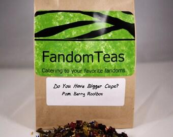 Do You Have Bigger Cups: Supernatural Inspired Green tea blend