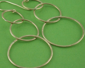 Hoopla Extraordinaire Earrings in Sterling Silver