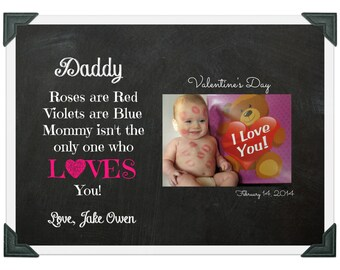 Baby's First Valentine's Day Gift For Daddy or Mommy (High Resolution Digital File)
