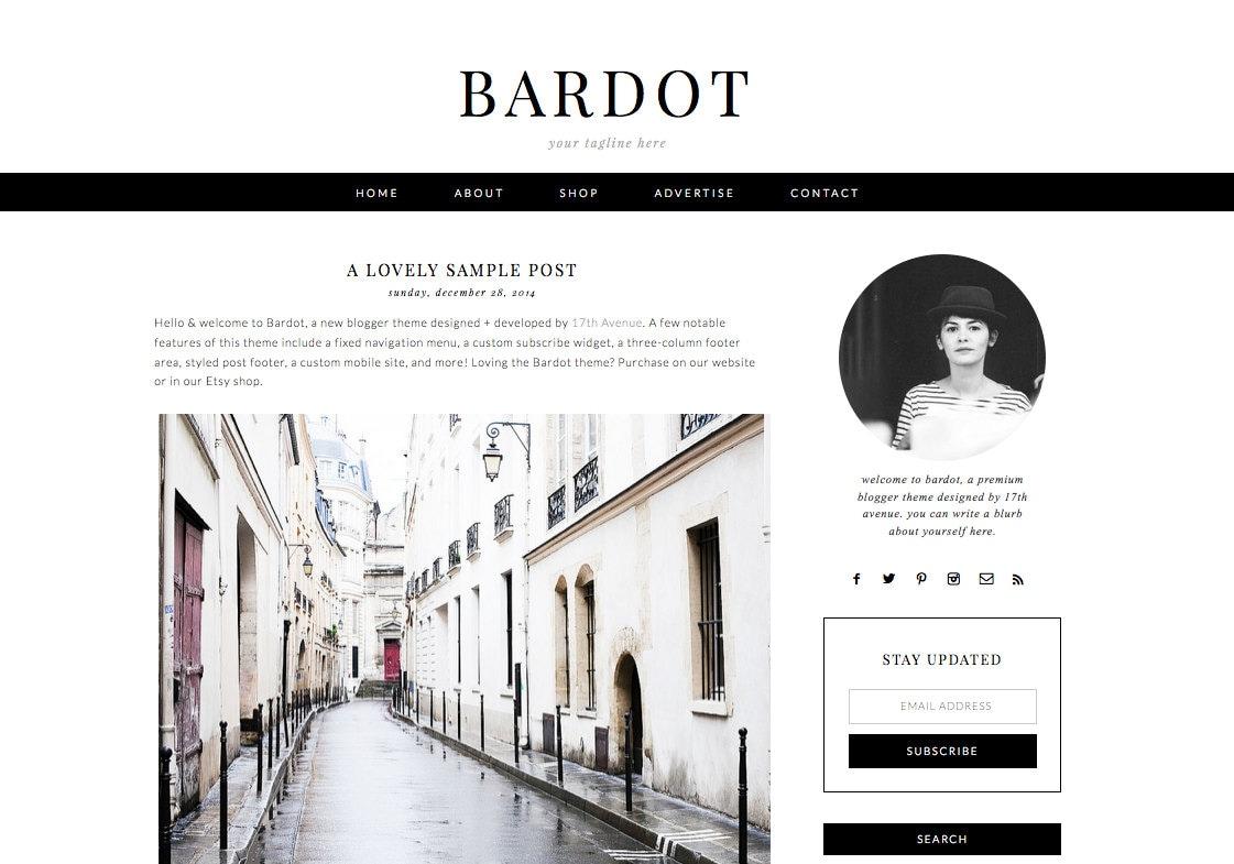 Beautiful Blogspot Design Templates Images - Wordpress Themes ...