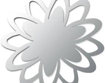 Mirror RICODESIGN Chrysanthemum flower