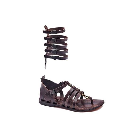 Handmade 613 Gladiator Sandals Leather Handmade Gladiator Leather wngCqUTcpn