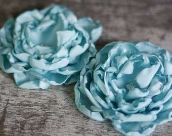 Fabric Flower Tutorial - Fabric Flower - DIY Fabric Flower- Pattern Tutorial - Cabbage Rose