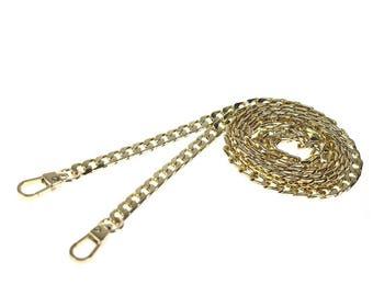 Adjustable Gold Chain Crossbody Strap for Rocketscientry Handbags