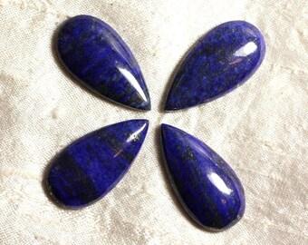 Cabochon stone - Lapis Lazuli - drop 40 x 20 mm 4558550035479