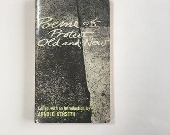 Vintage Protest Poetry / Poems of Protest Old and New / Protest Poetry, 1968