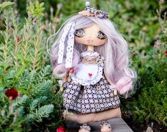 Custom portrait rag doll - Portrait doll - Textile doll - Handmade dolls - Fabric dolls - Personalized fabric doll - Doll clothes