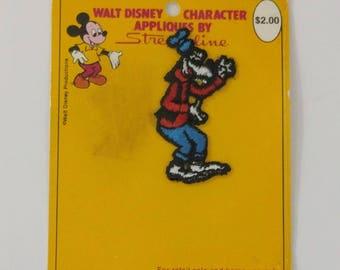 Walt Disney Goofy Applique par Streamline, gramophones, Disney couture Patch, Dingo, le chien Applique, Disneyland éphémères