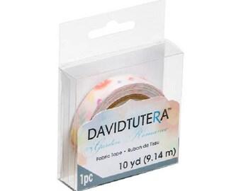 David Tutera Fabric Tape - Floral Print - 1/2 inch x 10 yards