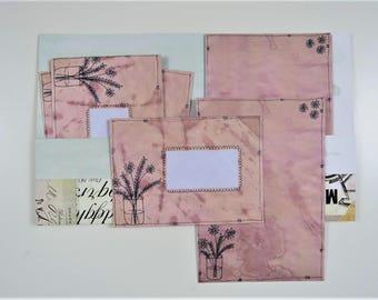 Briefpapier instellen: Vintage