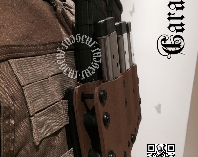 Caradoc Tactical AR/1911 Molle Rack