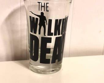 The Walking Dead Shot Glass 21st Birthday Gift TWD Fan
