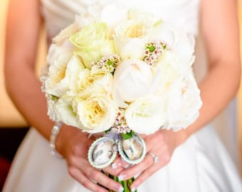 Custom Wedding Bouquet Photo Memory Charm