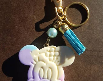 Minnie Mouse charm, keychain, purse charm