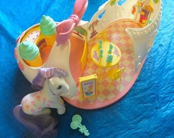 Vintage My Little Pony Satin Slipper Sweet Shoppe