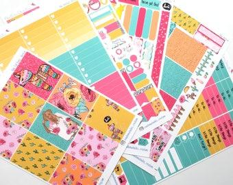 Hola Weekly Sticker Kit