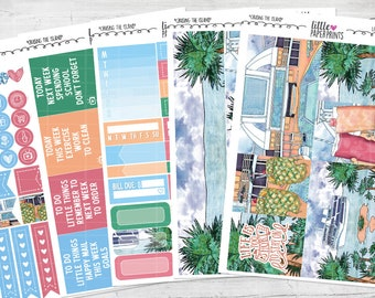 "5 PAGE LITTLE KIT | ""Cruising The Island"" Exclusive Glossy Kit 