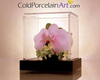 Pink Orchid - ColdPorcelainArt - Made to Order